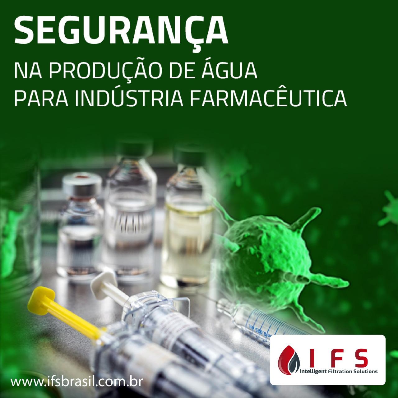 Segurança na Produção de Água para a Indústria Farmacêutica